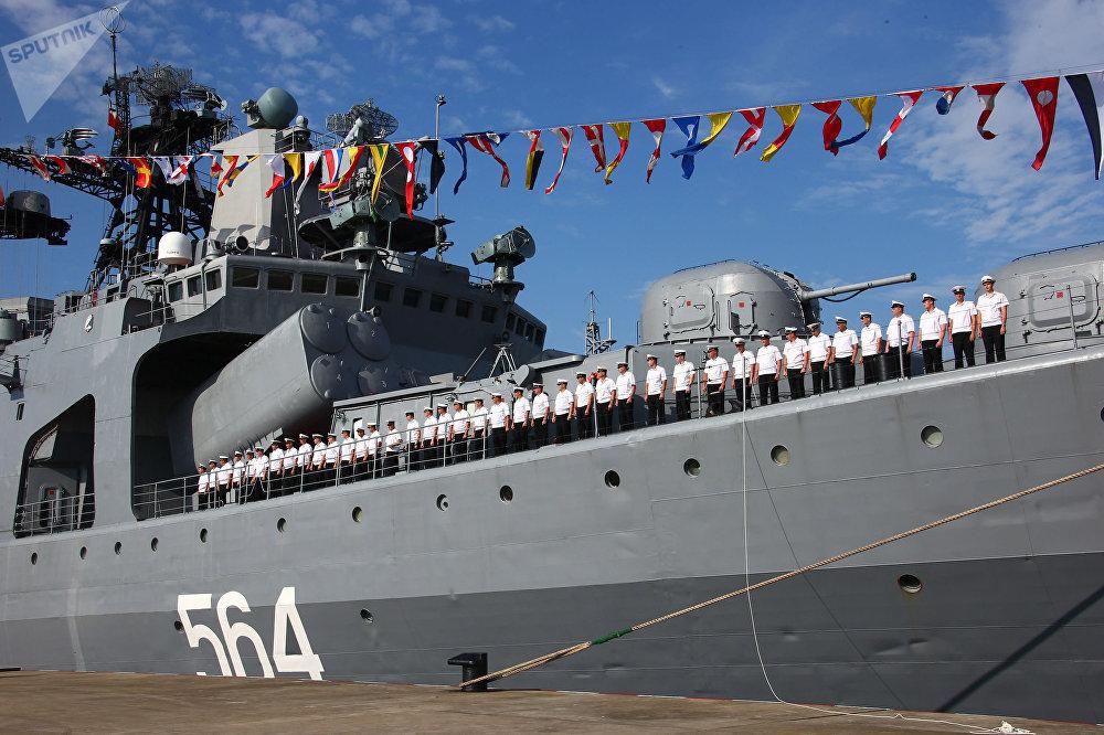 Las maniobras conjuntas de Rusia y China 'Cooperación Marítima 2016'