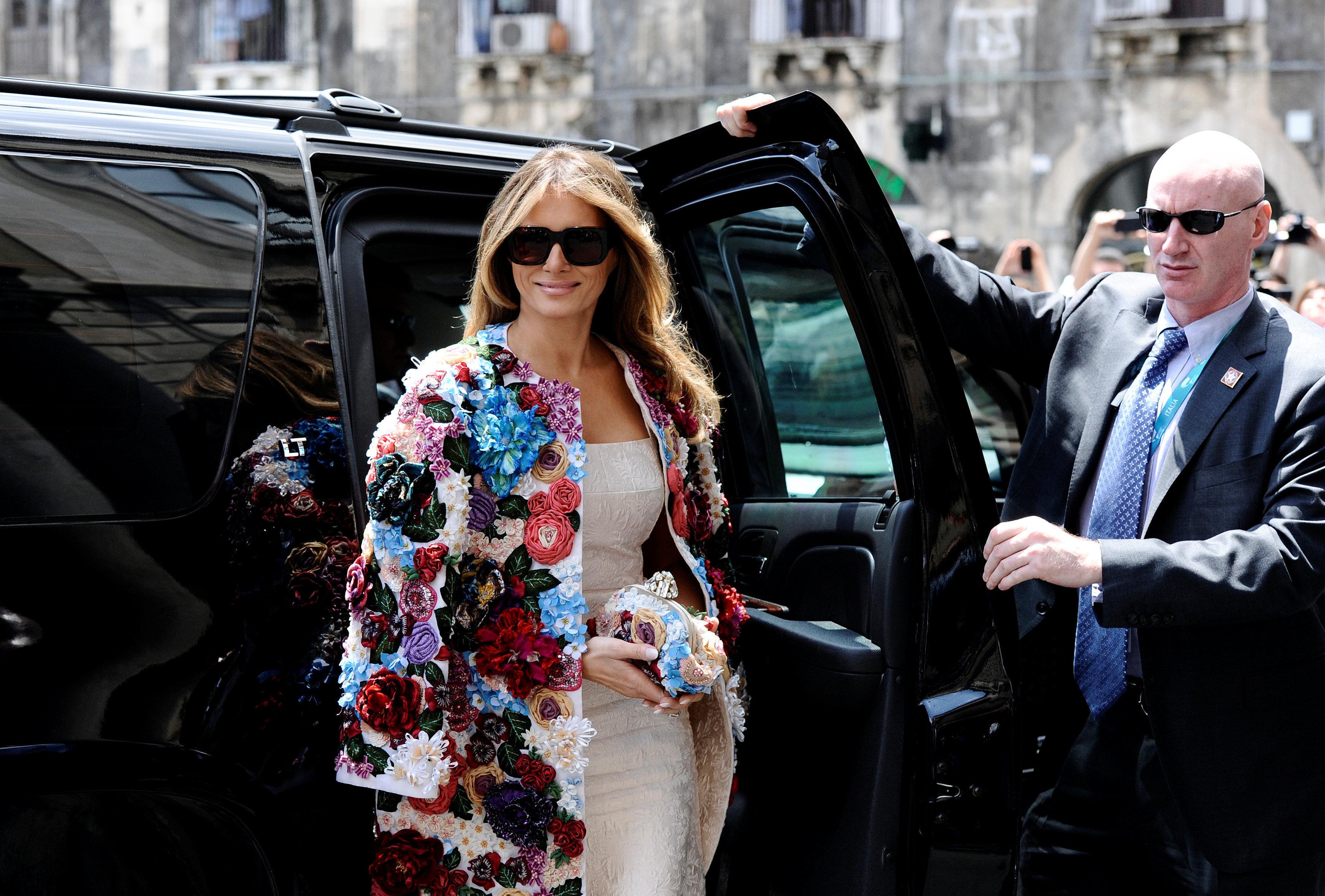 Berlusconi: 'Lo que más me gusta de Trump es su esposa'