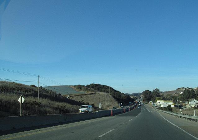 Carretera en California, EEUU
