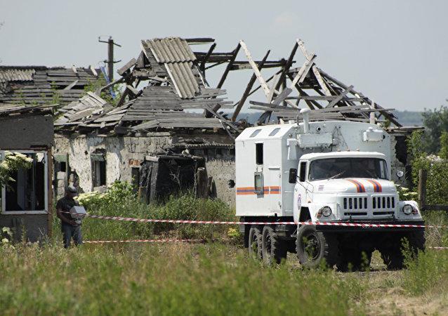Situación en Lugansk (archivo)
