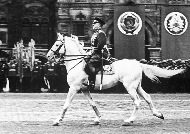 El mariscal soviético Gueorgi Zhúkov