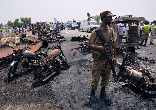 La tragedia en Bahawalpur, Pakistán