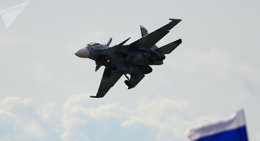 Caza Su-30 (archivo)