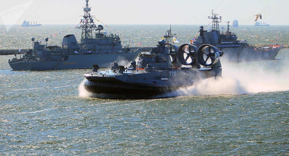 Aerodeslizador militar Zubr