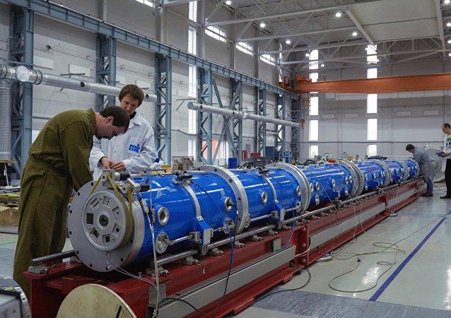 Un reactor nuclear ruso (archivo)