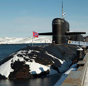 Submarino estratégico atómico Karelia (archivo)