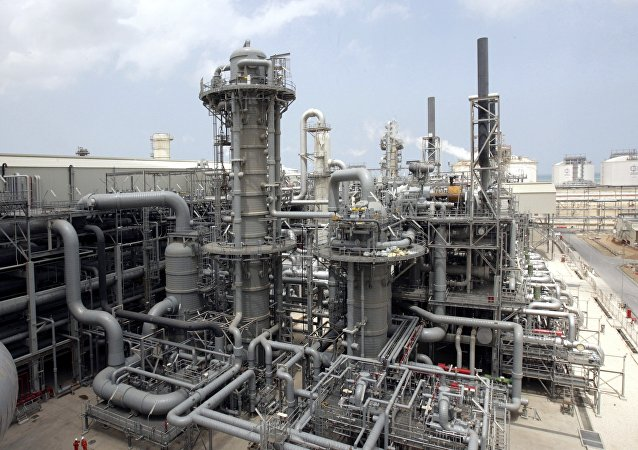 Producción del gas natural licuado en Catar (archivo)