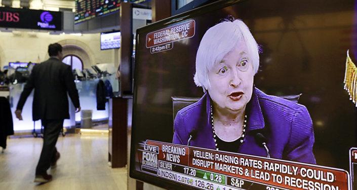 Janet Yellen, presidenta de la Fed (archivo)