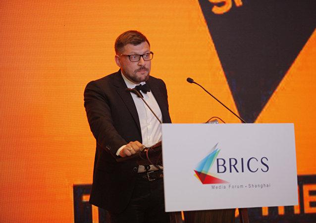 Serguéi Kochetkov, director adjunto de la agencia Sputnik
