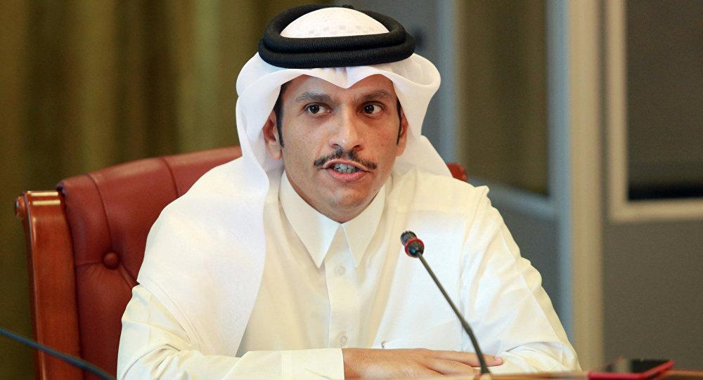 Mohamed bin Abdulrahman Thani, ministro de Exteriores catarí (archivo)