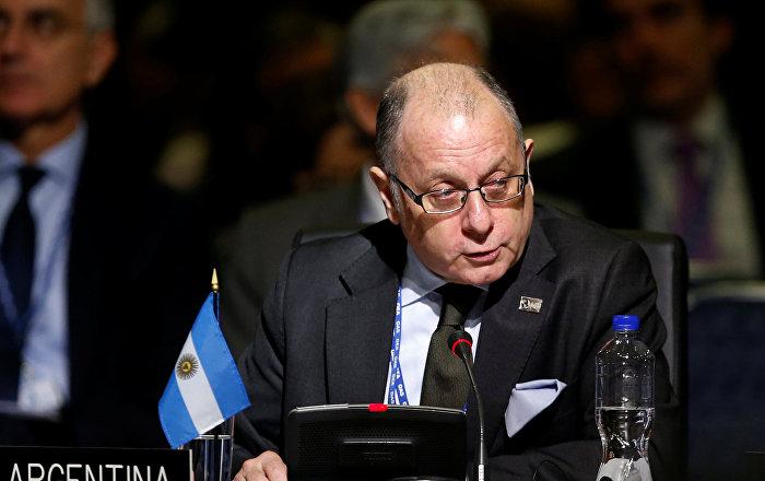 El Gobierno argentino respalda exclusión de Venezuela de encuentro regional de ministros
