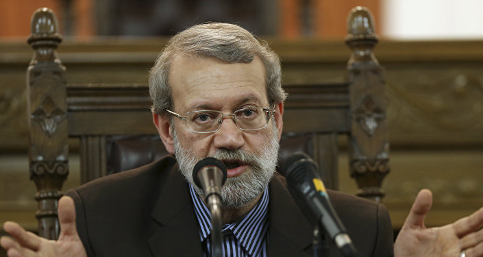 Alí Lariyaní, presidente del Parlamento iraní