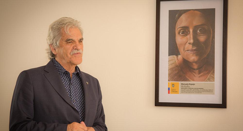 Ministro de Cultura de Ecuador, Raúl Pérez Torres