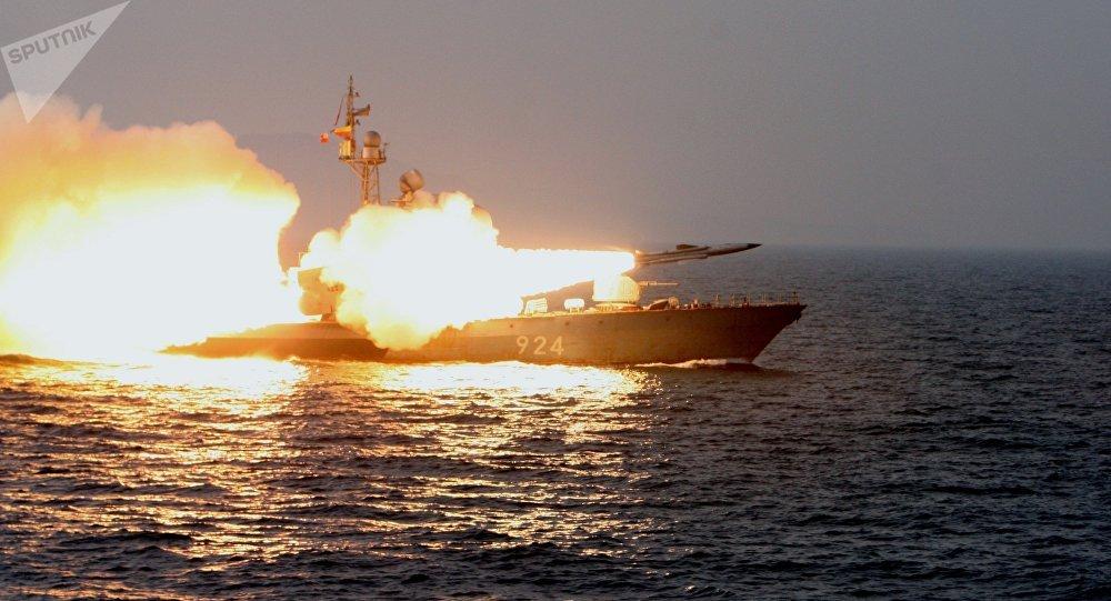 El lanzamiento del misil supersónico ruso Moskit (archivo)