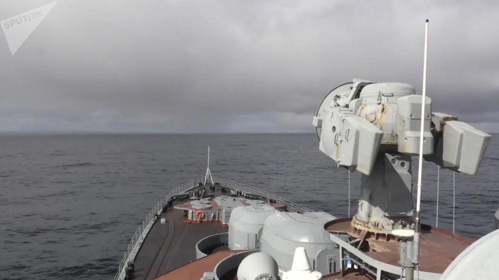 Submarino estratégico ruso lanza un misil balístico intercontinental