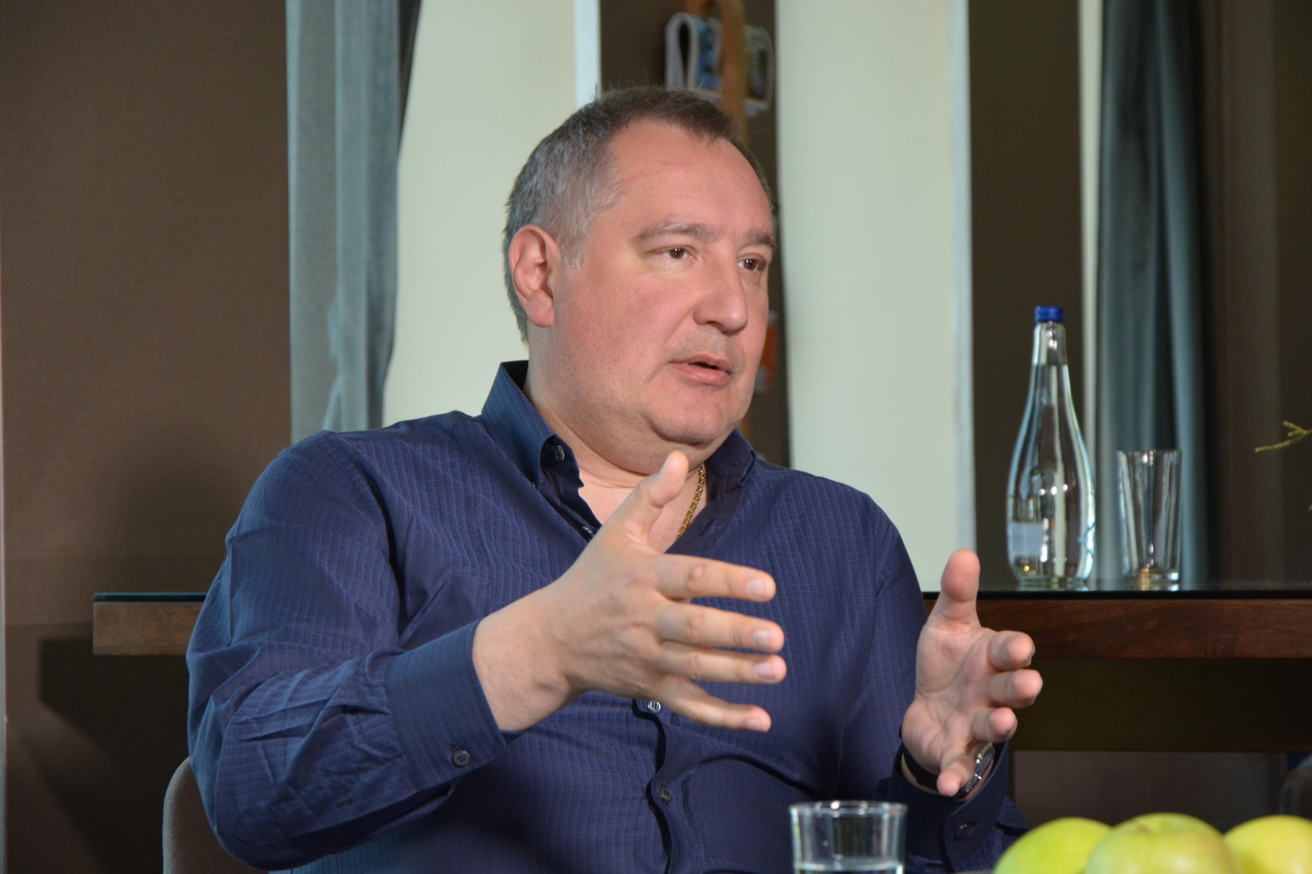 Dmitri Rogozin, vice primer ministro ruso
