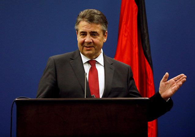 Sigmar Gabriel, ministro de Exteriores de Alemania