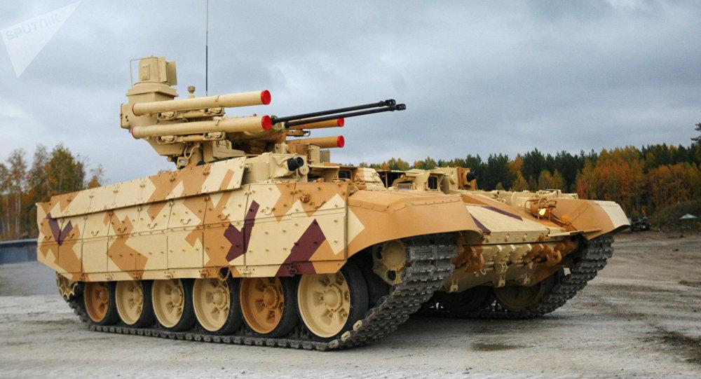 El vehículo de apoyo de fuego Terminator (archivo)