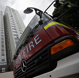 Evacuación de Burnham Tower en Londres