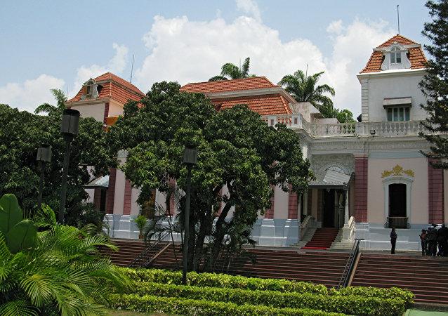 El Palacio de Miraflores, sede del Gobierno de Venezuela (archivo)
