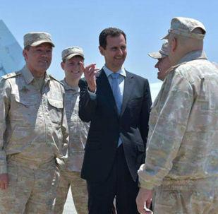 Bashar Asad, el 'as en la manga' de las Fuerzas Aeroespaciales rusas