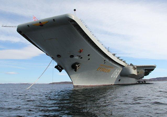 Portaviones Almirante Kuznetsov (archivo)
