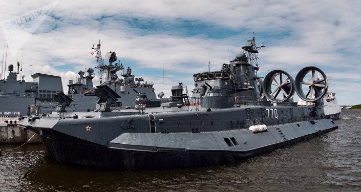 Un buque ruso (imagen referencial)