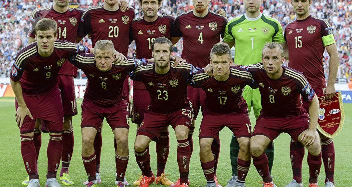 Selección rusa de fútbol (archivo)