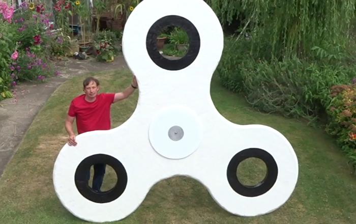 Megalomanía: construyen el 'spinner' más grande del mundo
