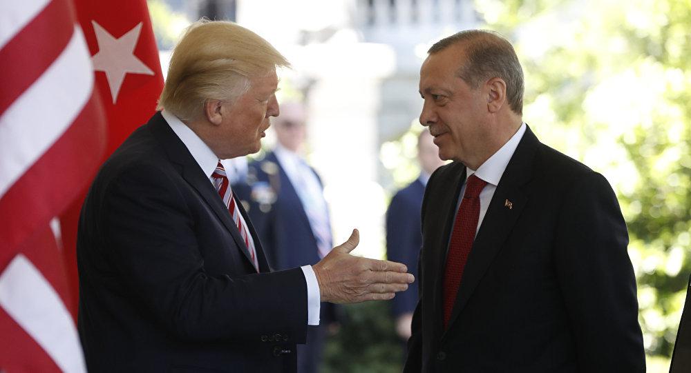 Donald Trump, presidente de EEUU, y Recep Tayyip Erdogan, presidente de Turquía (archivo)