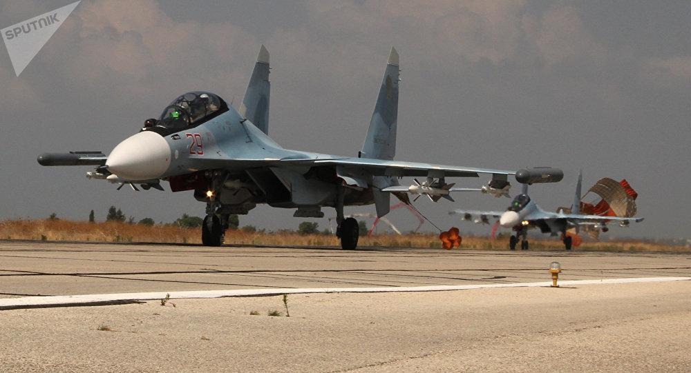 Los aviones rusos en Siria (archivo)