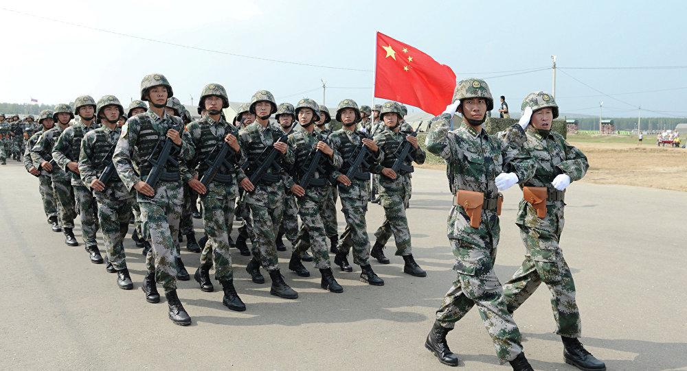 Ejercicios ruso-chinos Misión de Paz (archivo)