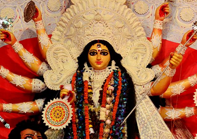 Una diosa india (imagen referencial)
