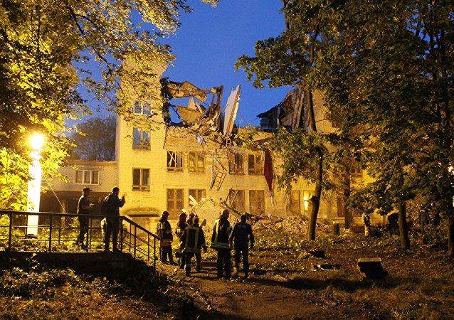 Atentado en Donetsk