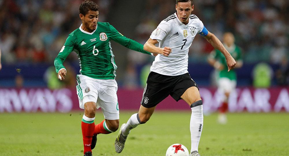 El partido entre Alemania y México