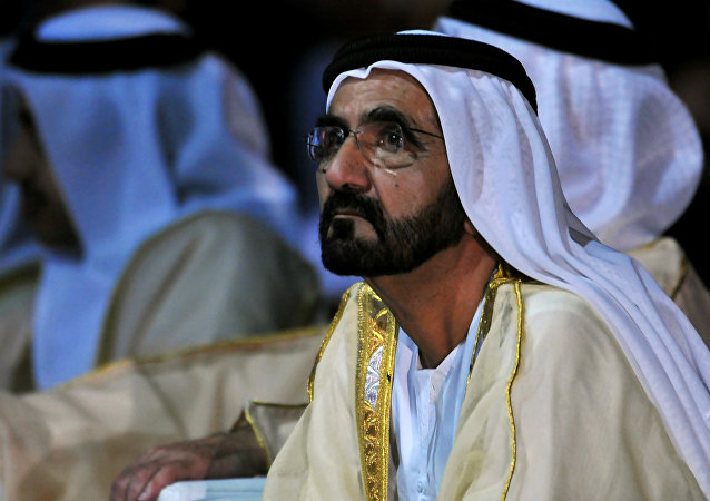 Mohammed bin Rashid al Maktoum, primer ministro de los Emiratos Árabes Unidos y emir de Dubái