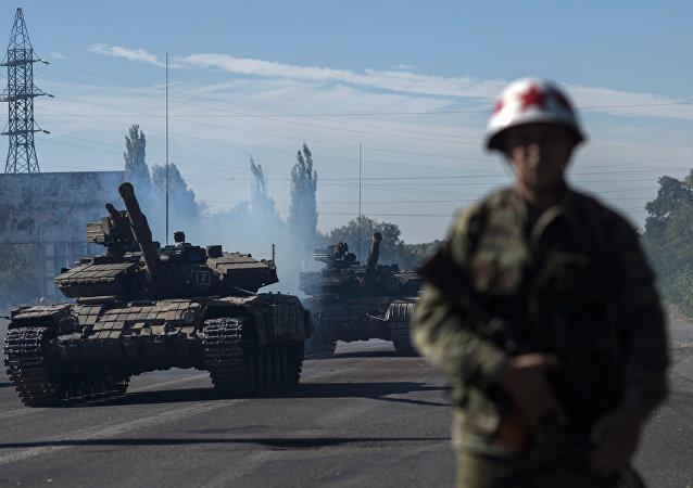 Milcias de la autoproclamada República Popular de Lugansk