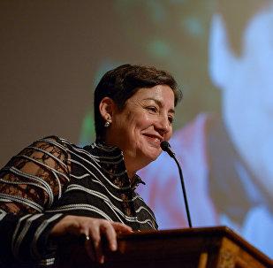 Beatriz Sánchez, candidata del Frente Amplio de Chile