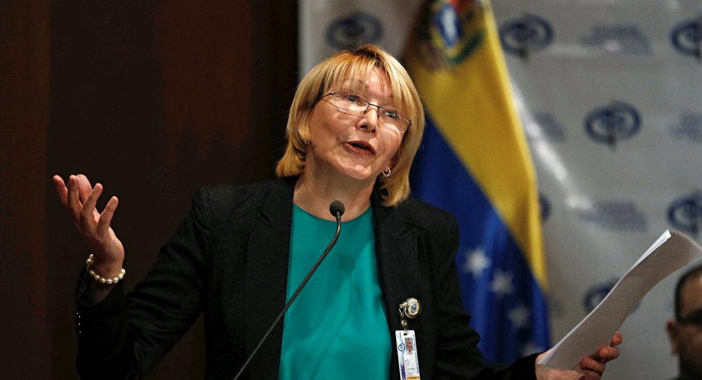 La fiscal general dirige un golpe de Estado — Gobierno de Maduro