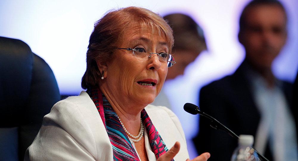 Michelle Bachelet, alta comisionada para los Derechos Humanos de la ONU (archivo)