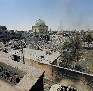 Situación el la Ciudad Vieja de Mosul