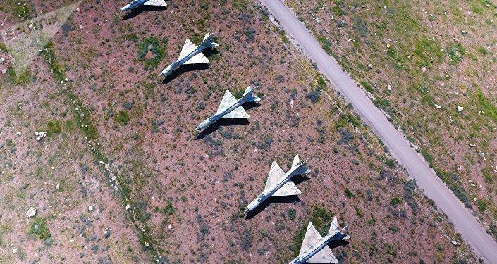 Base aérea Shairat en Siria