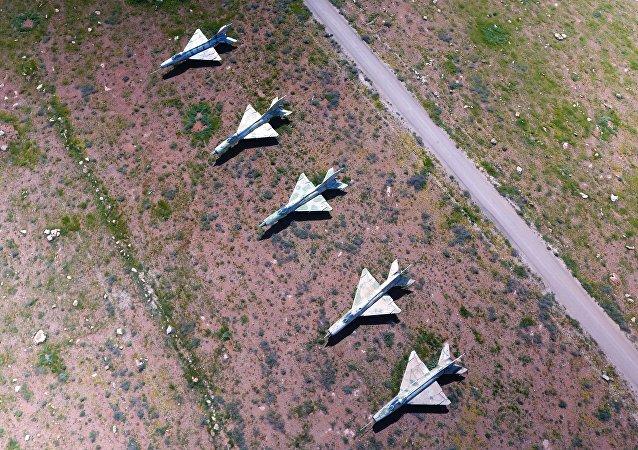 Base aérea Shairat en Siria (archivo)