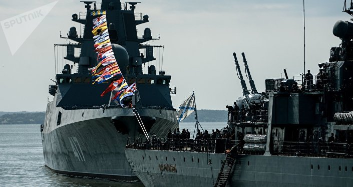 La fragata Almirante Gorshkov (imagen referencial)