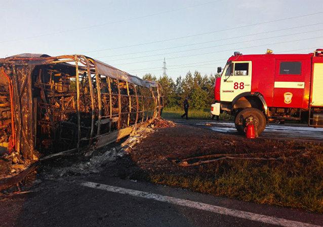 Accidente de autobús en Tartaristán