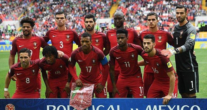 La selección portuguesa en el partido para definir tercer y cuarto puesto de la Copa Confederaciones 2017
