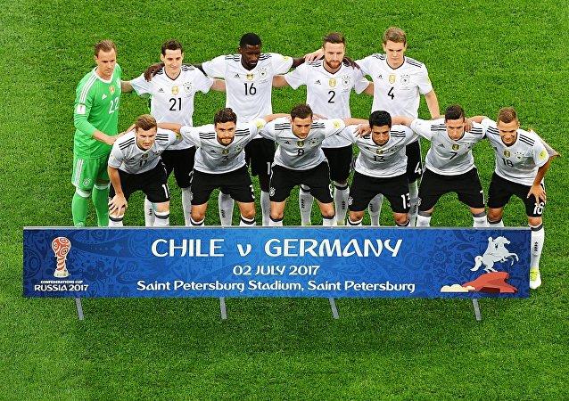 La selección alemana en la Copa de Confederaciones 2017