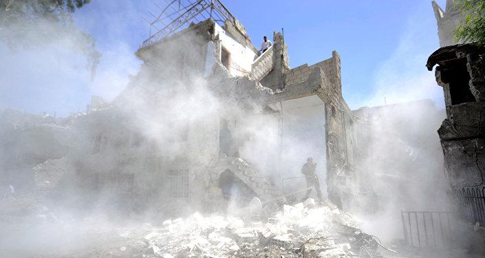 Ataque en Damasco