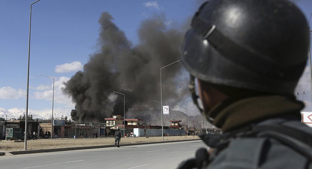 Una exposión en Afganistán (archivo)