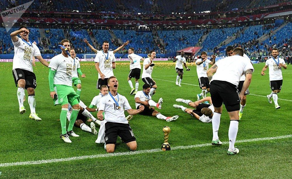 La magnífica ceremonia de clausura de la Copa Confederaciones 2017